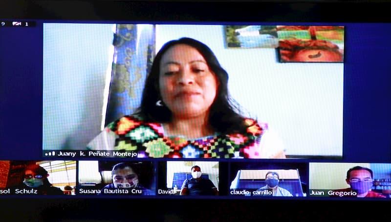 Presentan a ganadora del premio de Literaturas Indígenas de América 2020