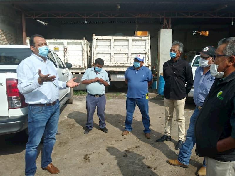Roberto Cabrera reconoce trabajo de campesinos y ejidatarios que mantienen su vocación en SJR