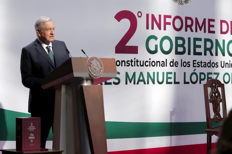 Segundo Informe de Gobierno, AMLO destaca 95 compromisos cumplidos