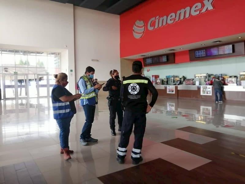 Supervisan medidas sanitarias en cines del estado de Queretaro