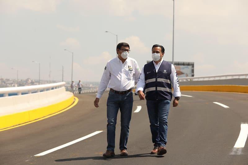 Viaducto Poniente se abrira a la circulacion la proxima semana Luis Nava 2
