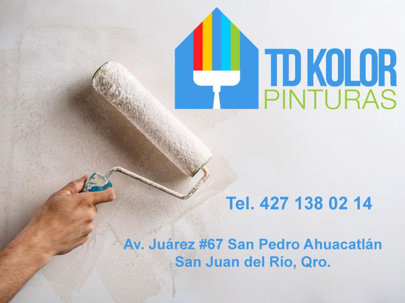 Pinturas TD Kolor San Pedro Ahuacatlán