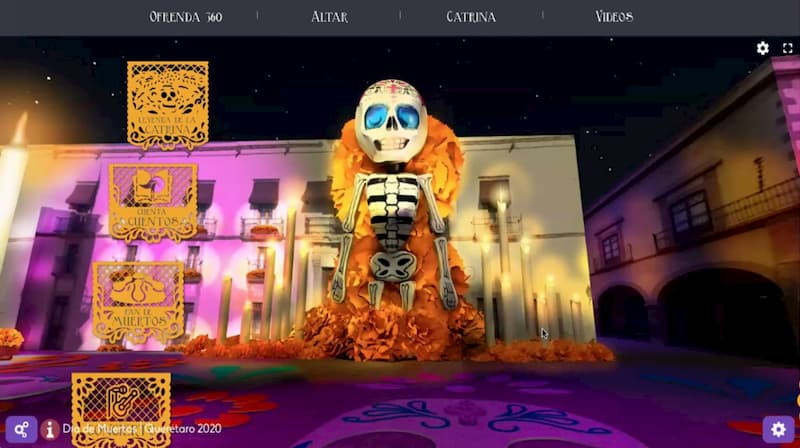 Presentan Festival Digital de Día de Muertos en Querétaro