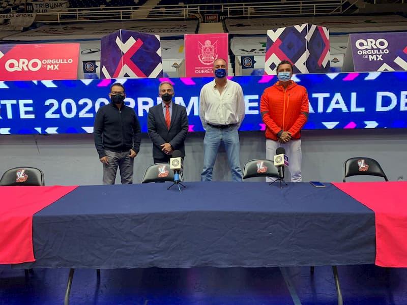 Listo el jurado que designará ganadores del Premio Estatal del Deporte 2020