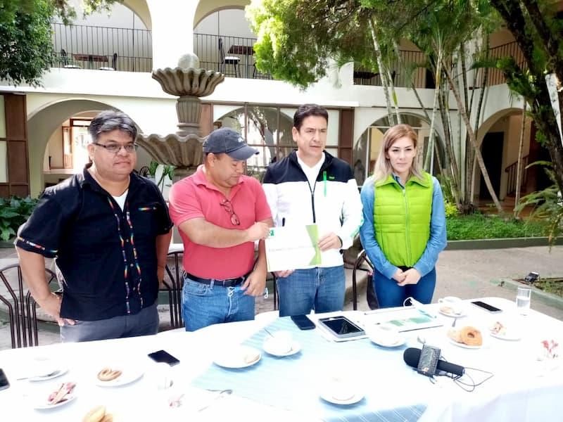 Nombra Partido Verde a Eduardo Jasso dirigente municipal en Jalpan Queretaro 1