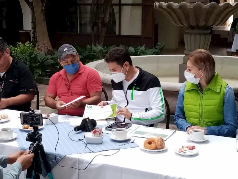 Nombra Partido Verde a Eduardo Jasso dirigente municipal en Jalpan, Querétaro