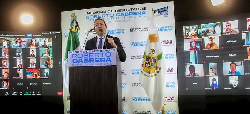 Roberto Cabrera Resalta que cada iniciativa de ley tuvo como finalidad mejorar la vida de cada sanjuanense.