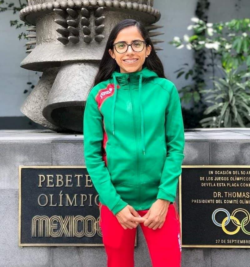 Lista para correr en Polonia Daniela Torres, atleta queretana