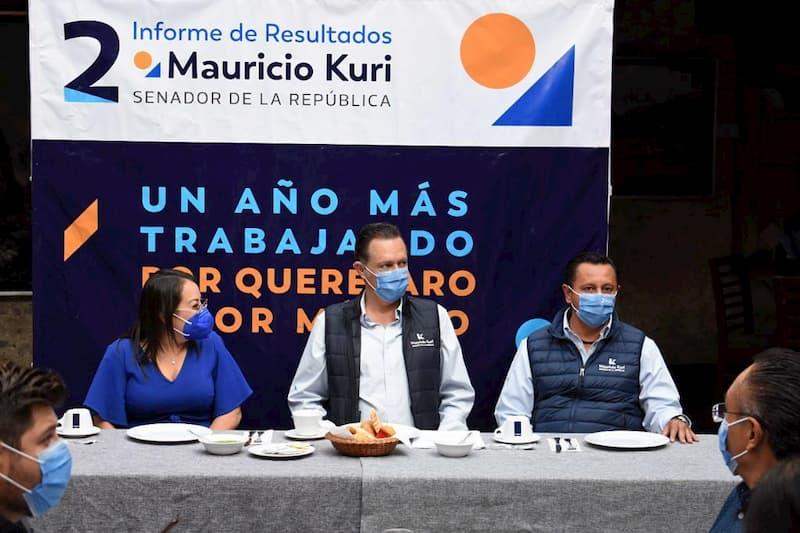 Queretaro es Queretaro gracias a su gente gracias a los empresarios Mauricio Kuri 1