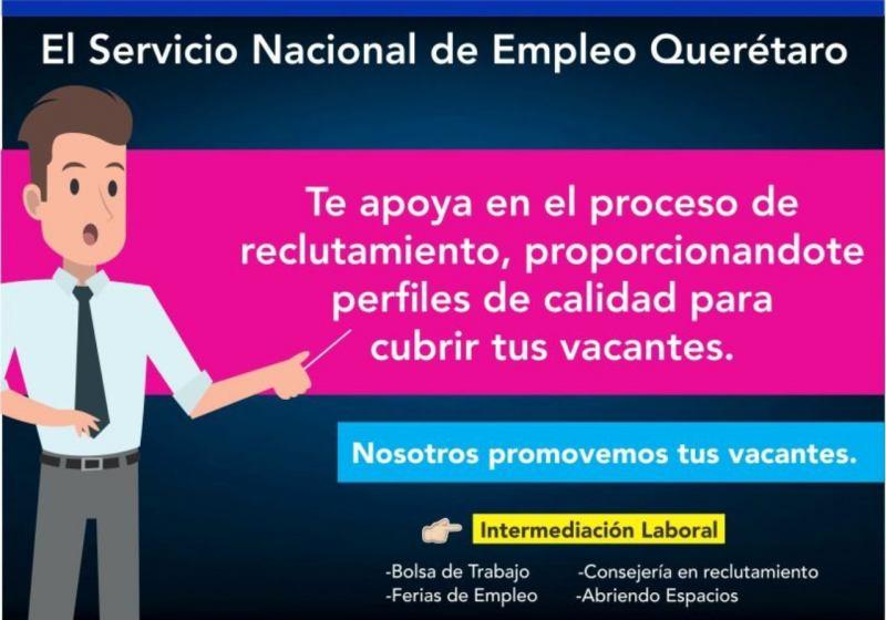 Bolsa de empleo para San Juan del Río, Qro; a través de Facebook