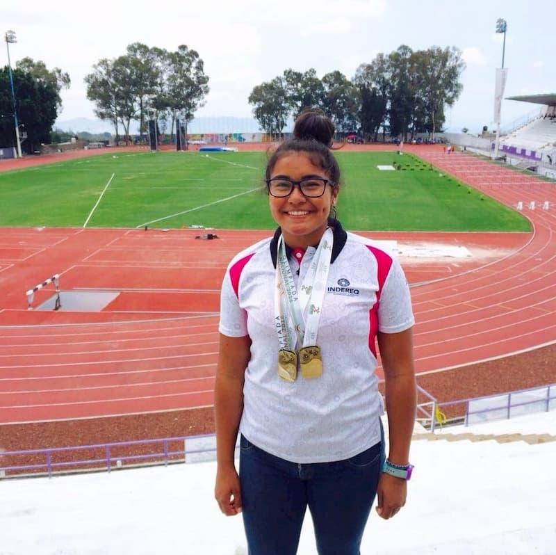 Atleta queretana consigue beca en Universidad de Estados Unidos