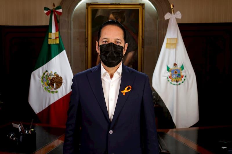 Gobernador de Querétaro anuncia reforzamiento de acciones contra COVID-19