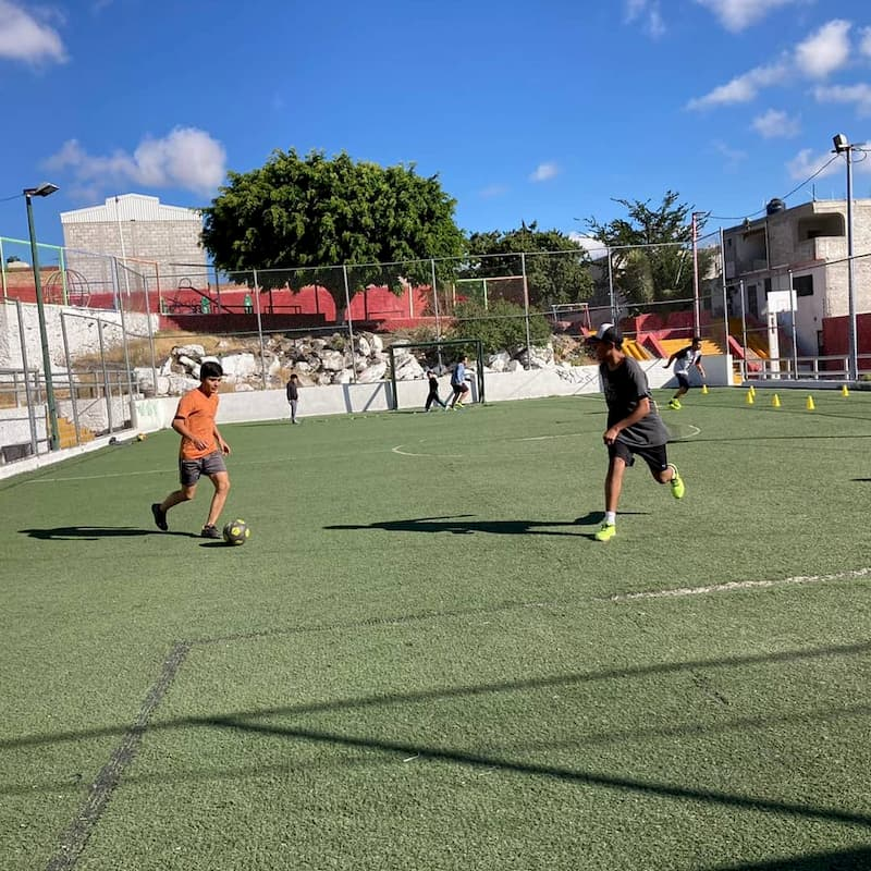 Redes Sociales Progresistas activan fútbol infantil y juvenil en colonia Peñuelas