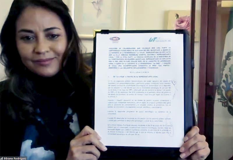 UTSJR y CMIC se reunieron para firmar convenio de colaboración