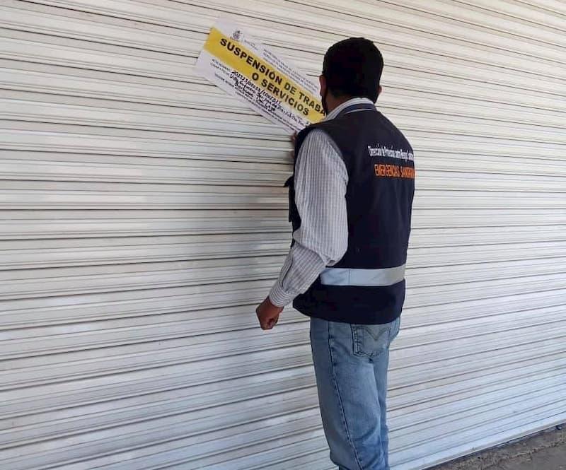 504 establecimientos suspendidos mediante la Unidad Especial Anti-Covid-19 en el Estado de Querétaro