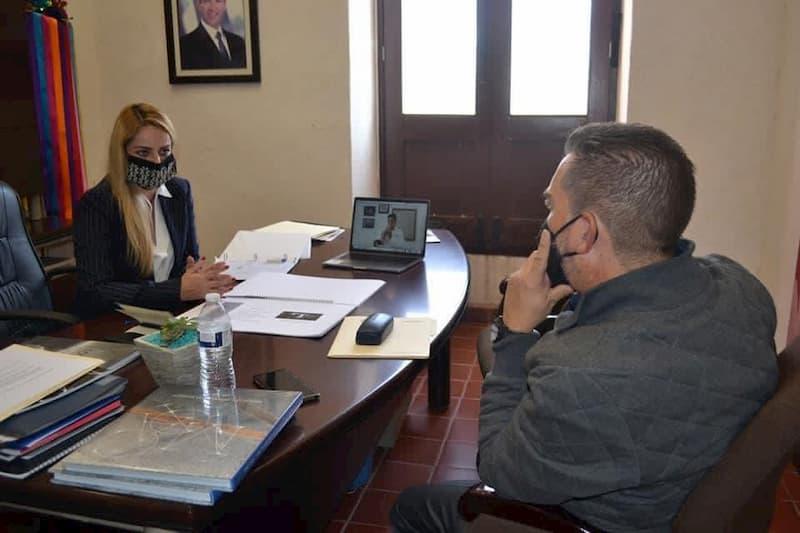 Diputado Hugo Cabrera presenta proyectos ante la Secretaría de Cultura