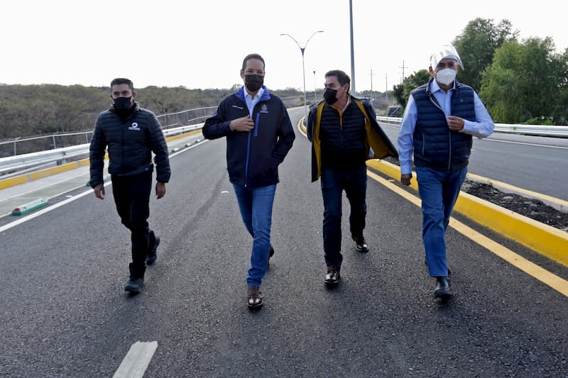 Encabeza gobernador de Querétaro entrega de vialidad Paseo de los Venados