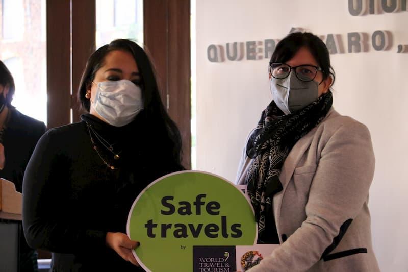 Entregan sello Safe Travels a empresas turísticas y Pueblos Mágicos de Querétaro
