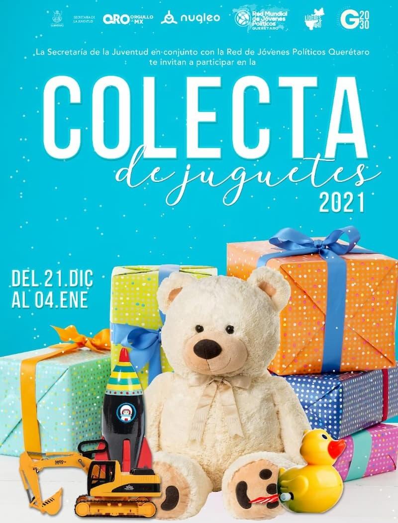 Invita SEJUVE a su recaudación anual de juguetes