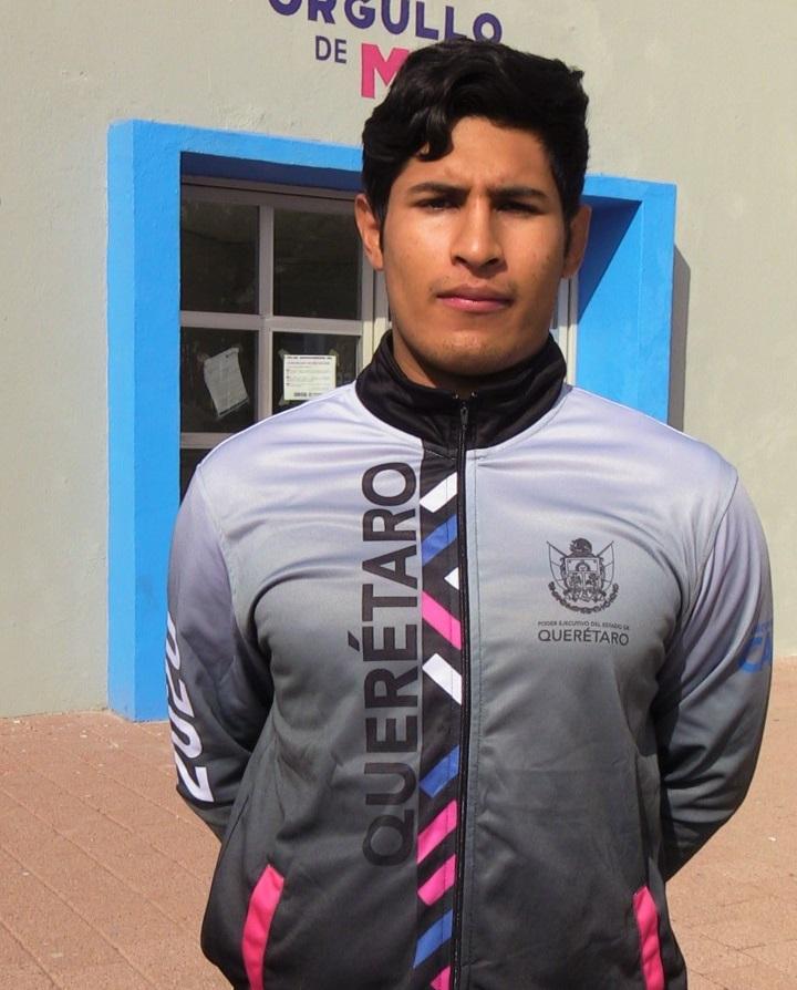 Atleta Gilberto Cardoso está listo para competir por el boleto olímpico