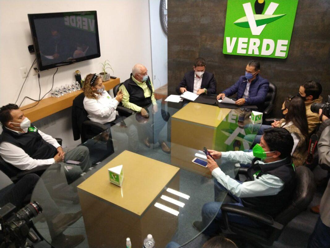 Postula Partido Verde a Adolfo Ríos para la alcaldía de Querétaro