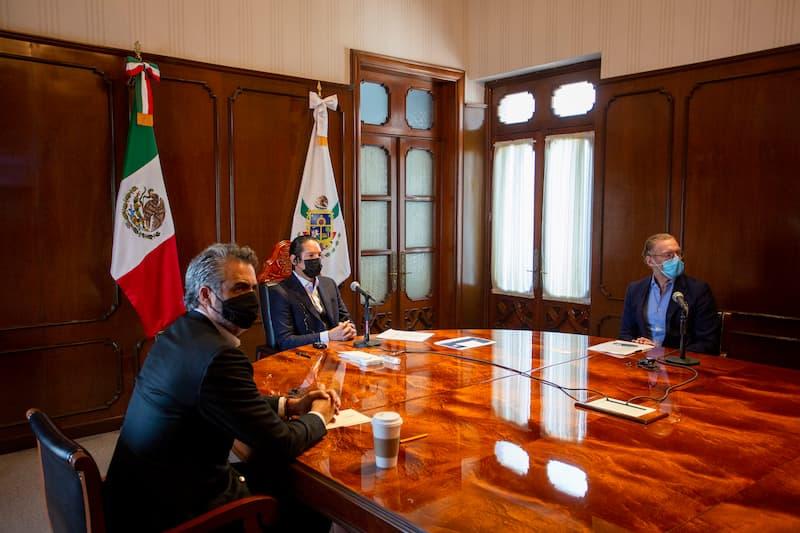 Anuncia gobernador la llegada de CloudHQ a Queretaro