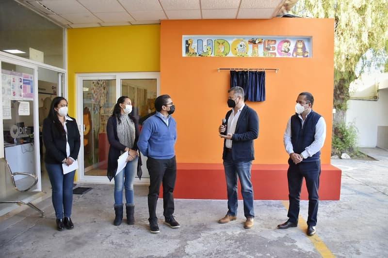 Inauguran ludoteca del DIF Municipal de Corregidora