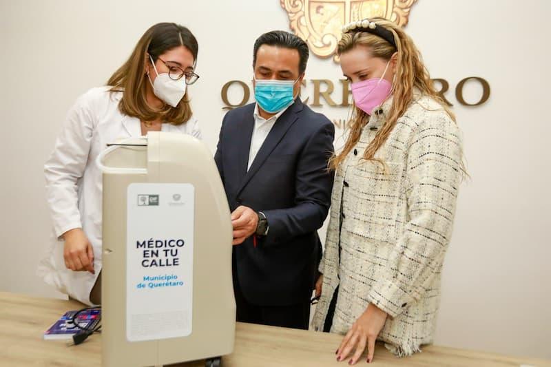 Municipio de Querétaro ha prestado 30 concentradores de oxígeno