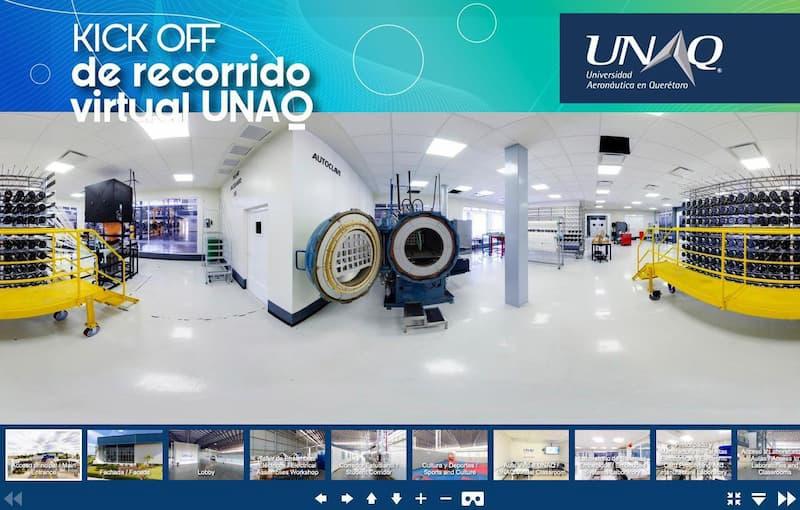 Realizan recorrido virtual por la UNAQ