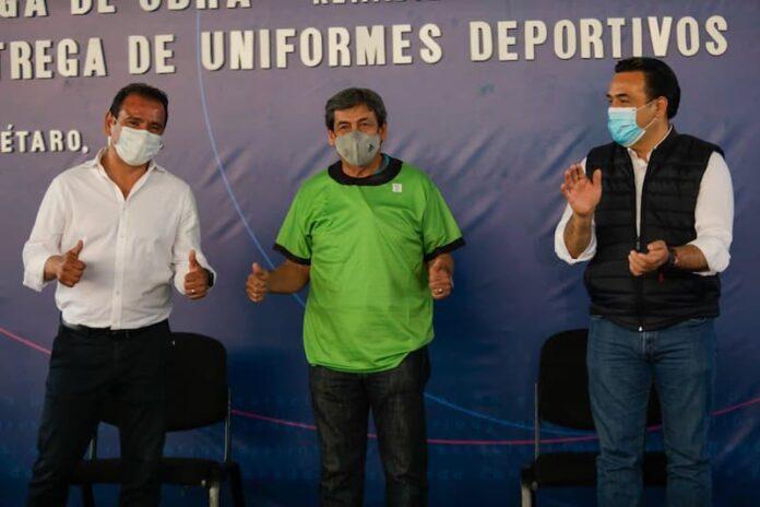 8 mil uniformes deportivos entregados para ligas interdelegacionales del municipio de QRO