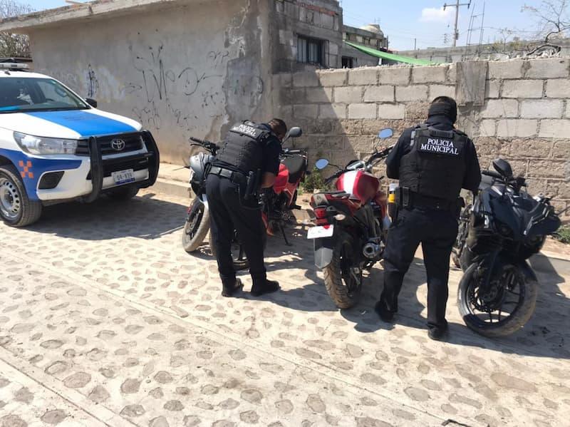 Detiene a 5 sujetos en La Estancia, SJR