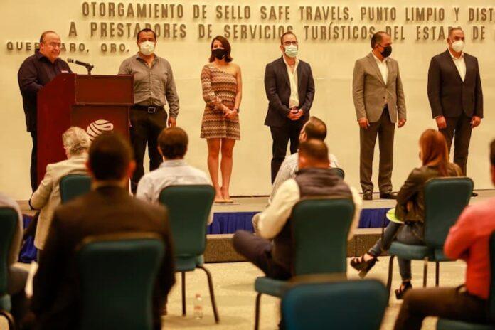 Municipio de Querétaro recibió sello Safe Travels Stamp