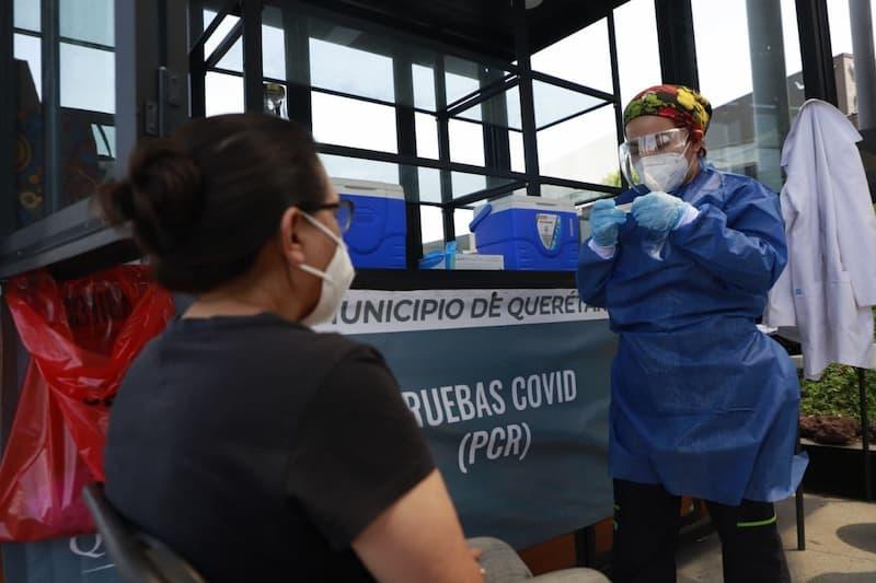 Pruebas PCR en mercados de La Cruz, Escobedo y Tepetate