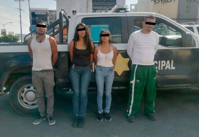 Desarticulan banda de robo a comercio en la zona norte de Querétaro