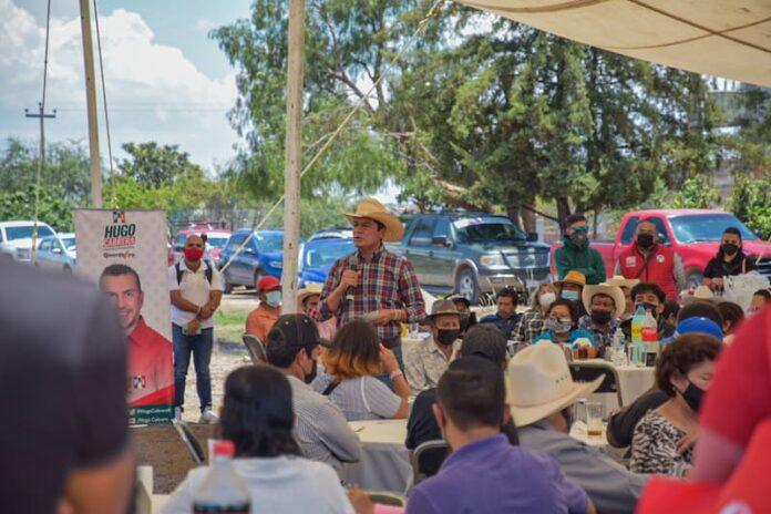 Un gobierno con la gente, un gobierno con los campesinos: Toño Macías