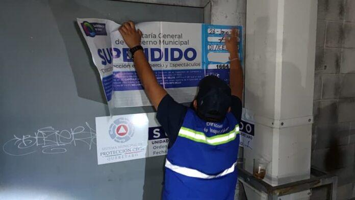 Continúa la supervisión a comercios establecido y de vía pública en QRO