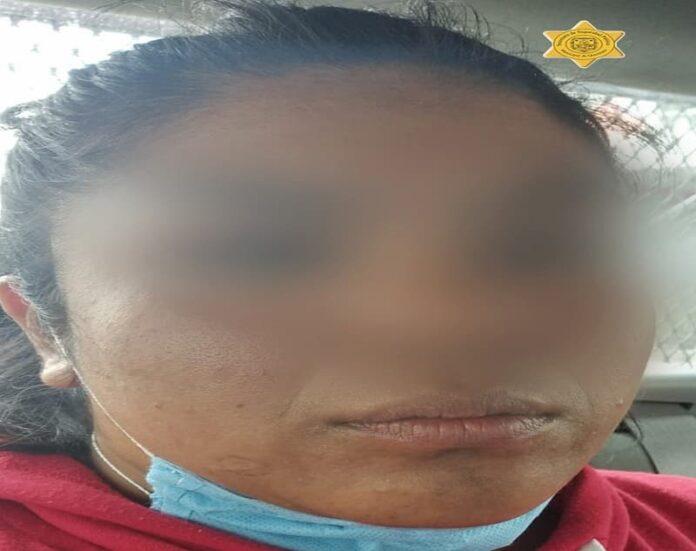 Detienen a mujer en La Trinidad, tras encontrarle sustancias tóxicas