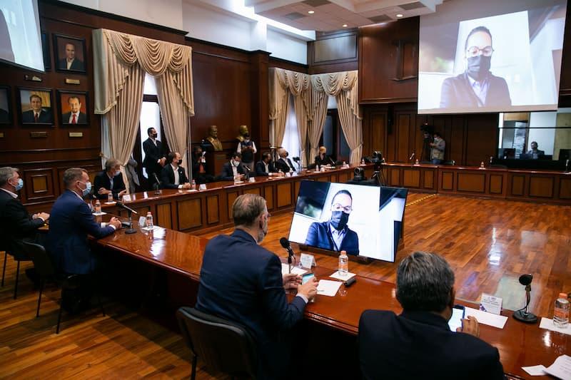 En Querétaro se fortalece confianza con sectores empresariales Gobernador