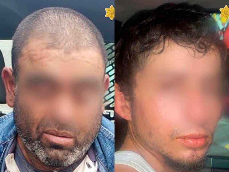 Policías municipales detienen a sujetos con sustancias tóxicas en QRO
