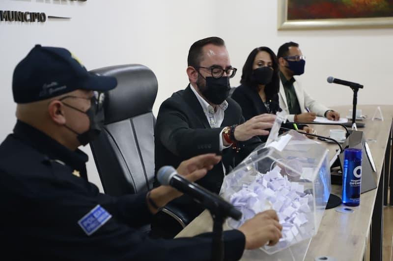 Se realizó sorteo para pruebas toxicológicas a personal de la SSPM-QRO