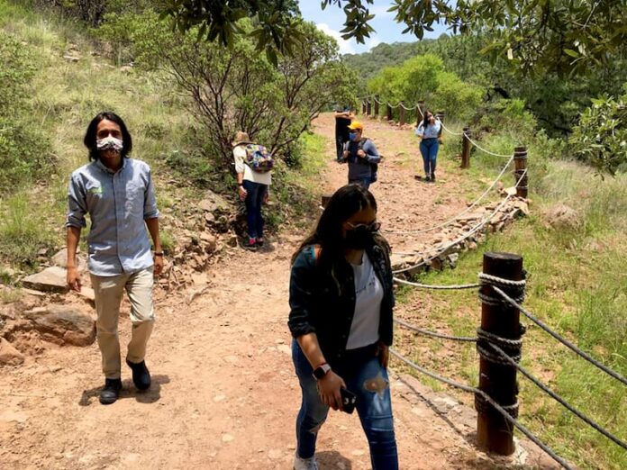 Estudiantes de la UTC apoyan a la reforestación del parque natural La Beata en el municipio de Amealco