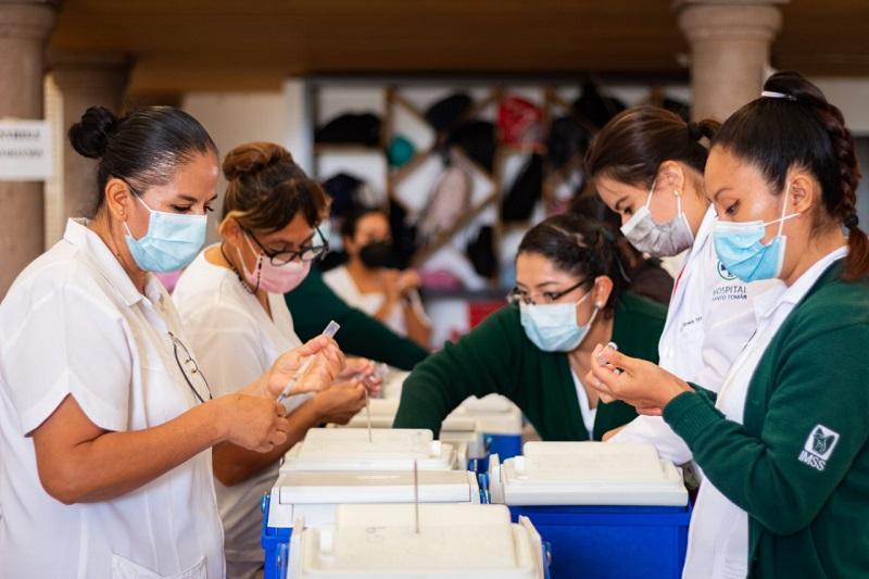 Estado de Queretaro con el 91 de su poblacion vacunada contra COVID 19 2