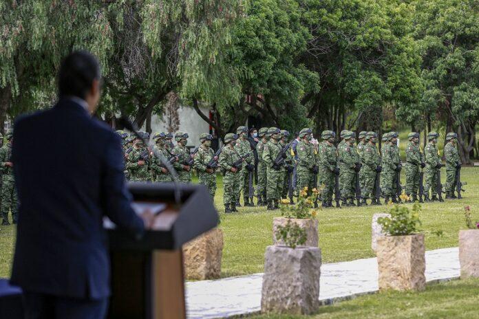 Francisco Dominguez asiste al 174 Aniversario de la Gesta Heroica de los Ninos Heroes 1