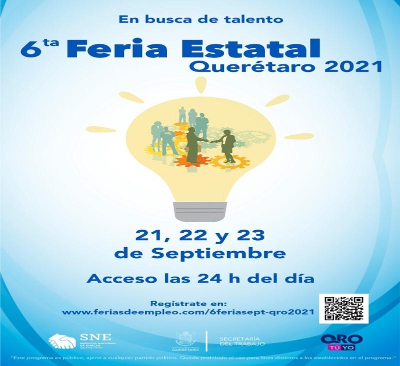 Realizarán Feria del Empleo para Técnicos y Profesionistas con mil plazas formales