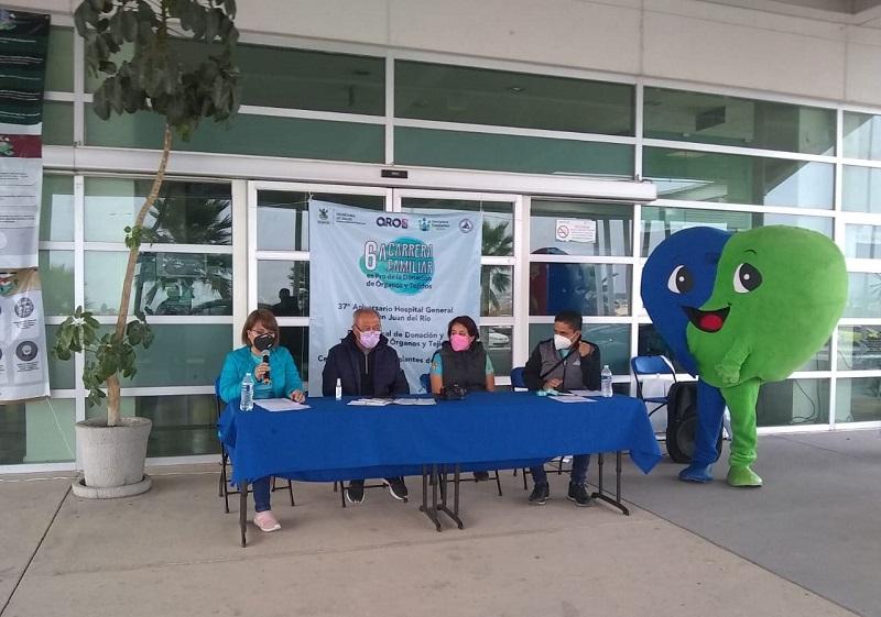 Se llevó a cabo con éxito la 6ta Carrera Virtual Familiar en Pro de la Donación de Órganos y Tejidos