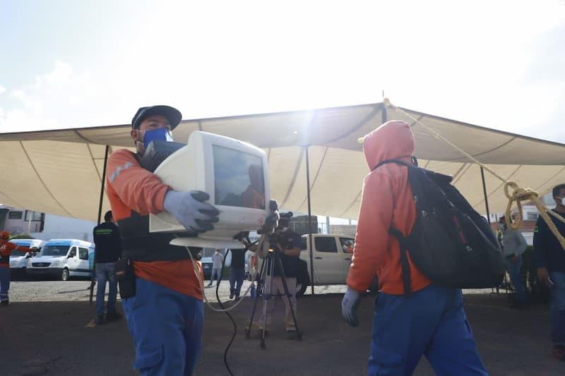 Se reunieron más de 50 toneladas de residuos en la Mega Jornada de Reciclaje en municipio de QRO