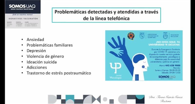 UAQ contribuye a la prevención del suicidio