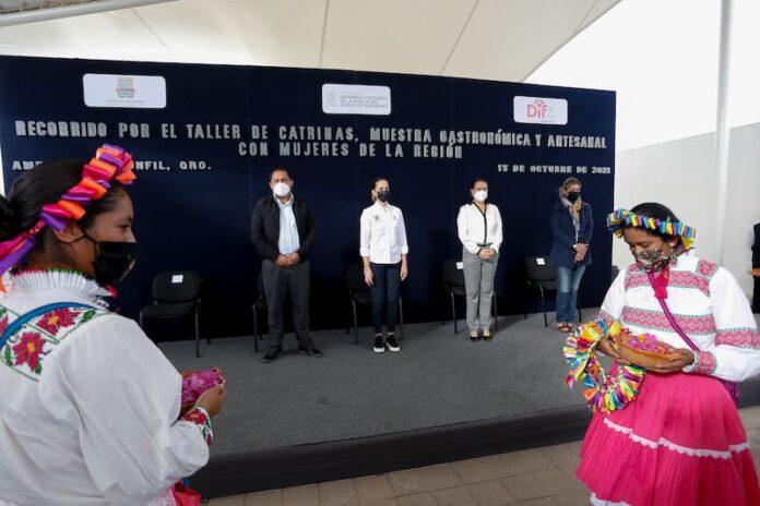 Reconoce Car Herrera de Kuri las tradiciones gastronomia y artesanias de Amealco 2