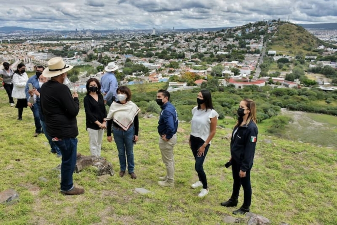 Roberto Sosa recorrió zona arqueológica El Cerrito