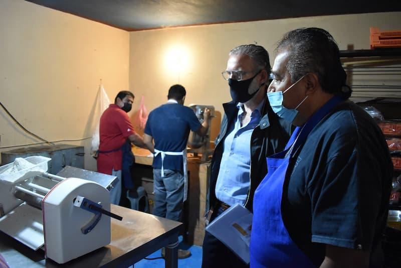 SEDESU visita macro empresas en el municipio de Colón